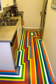 Floor Tape by Diy How To Give Your Apartment A Bold New Floor For Less Than 100