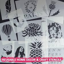 Chandelier Stencils Wall Decor Stencil Ideal Stencils