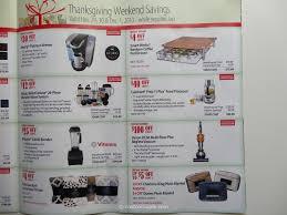 costco 2013 thanksgiving weekend savings