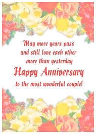 anniversary ecards free free wedding anniversary ecards with anniversary wishes to a
