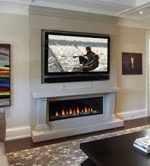 Gas Mantle Fireplace by Best 25 Linear Fireplace Ideas On Pinterest Napoleon Electric