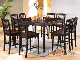 9 dining room set 9 dining room set square counter height dining table 9