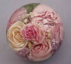 preserving flowers 56 best flower paperweights images on flowers