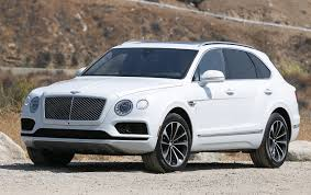 bentley suv review 2017 bentley bentayga offers big bang for big bucks la times
