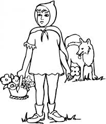 red riding hood coloring pages picture coloring
