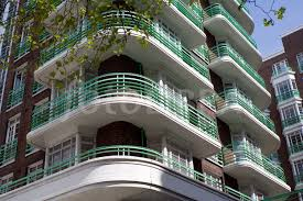 art deco balcony art deco apartment block london
