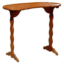 Kidney Shaped Writing Desk Build A Small Kidney Shaped Writing Desk Diy Home Decor U0026 Furniture