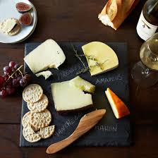 chalkboard cheese plate slate cheese board knife and soapstone pencil set on food52