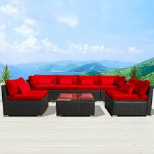 modenzi 7g u outdoor sectional patio furniture wicker sofa set review
