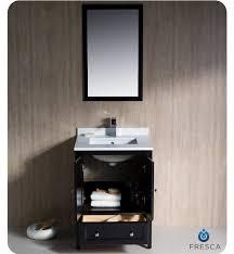Toronto Bathroom Vanity 24 Fresca Oxford Fvn2024es Traditional Bathroom Vanity