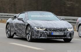 volvo roadster report bmw i8 roadster to debut at 2017 la auto show