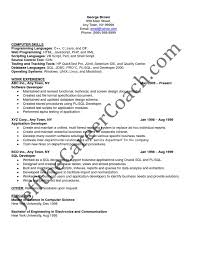 resume for software developer pl sql developer sample resume 3 pl sql resume sample 21