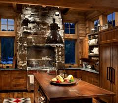 Beautiful Log Home Interiors Rustic Kitchens Design Ideas Tips U0026 Inspiration