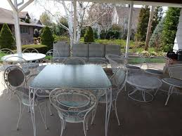 Wrought Iron Patio Chair Wrought Iron Patio Furniture Dining Sets U2014 Bitdigest Design