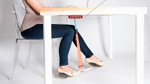 Legs On Desk Keep Your Legs From Falling Asleep With This New Office Swing