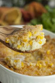fashioned creamed corn casserole wishes and dishes