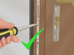 Door Handles And Locks How To Change A Upvc Door Lock 9 Steps With Pictures Wikihow