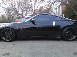 Nissan 350z All Black - official avant garde forged thread my350z com nissan 350z and