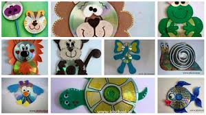kids fun creative ideas from cd crazzy craft