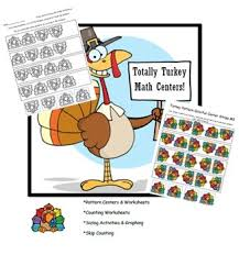 totally turkey thanksgiving math centers activities by mrs m