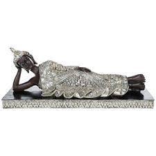 silver buddha ornaments ebay