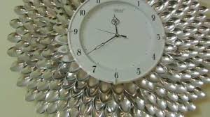 diy designer wall clock wall decor u0026 art youtube