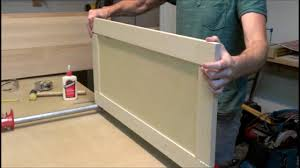 How To Make Your Own Kitchen Cabinet Doors Building A Simple Shaker Style Cabinet Door Youtube