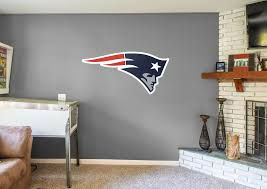 new england patriots logo wall decal shop fathead for new
