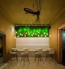 Restaurant String Lights by Shift U2013 A Restaurant Shaped By Music And Nature In Bucharest