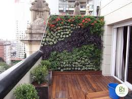 Ideas For Balcony Garden Use Challenging Areas This Balcony Has An Angled Side Wall Which