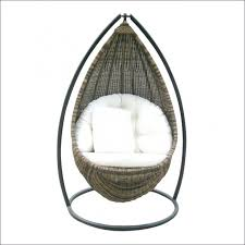 rattan hanging pod chair at 1stdibs double seater hanging pod