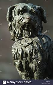affenpinscher loyalty greyfriars bobby on george iv bridge edinburgh scotland uk