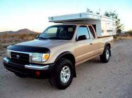 pop up cer toyota tacoma for sale 1999 toyota tacoma xtracab with 2002 four wheel eagle