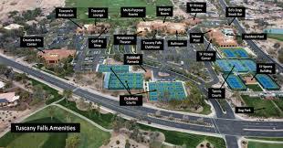 pebble creek hoa tuscany falls amenities map