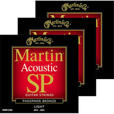 Light Guitar Strings by Acoustic Guitar Strings Chicago Music Exchange