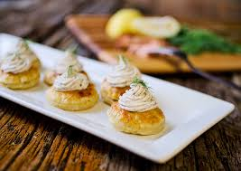 puff pastry canape ideas smoked salmon goat cheese puffs page 2 of 2