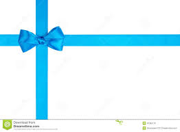 white blue ribbon light blue ribbon bow for packaging stock photo image 42385176