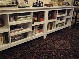 Threshold Carson 5 Shelf Bookcase White Bookshelf Astounding Horizontal Bookshelves Diy Horizontal