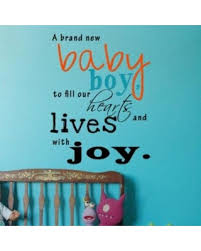 Wall Decals For Nursery Boy Amazing Deal On Popdecors A Brand New Baby Boy Inspirational