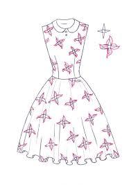 how to draw floral print i draw fashion