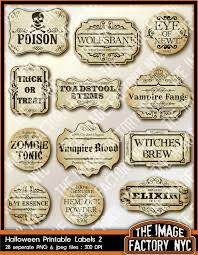 halloween apothecary jar labels halloween printable frames and labels for all your digital
