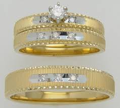 Walmart Wedding Rings Sets For Him And Her by Trio Sets