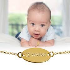 baby gold bracelet with name 18k gold plated baby name bracelet mynamenecklace