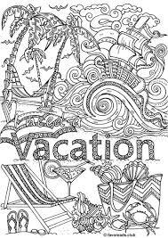 woman u0027s adventure vacation favoreads coloring club printable