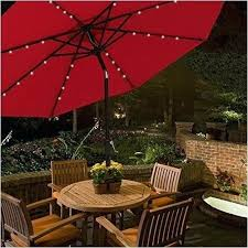solar umbrella clip lights solar lighted umbrellas patio umbrella led lights lovely 9 ft