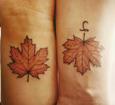 14 maple leaf tattoos that look better than the actual tree theberry