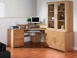 natural brown corner desk ikea with storage ideas home interior