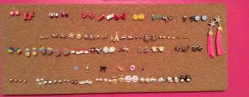 earring holder for studs easy diy stud earring organizer girlalicious
