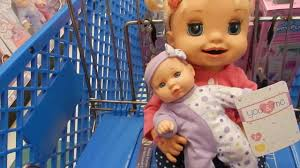 baby us baby alive goes to toys r us