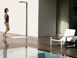 Outdoor Shower Pole by Best Outdoor Shower Fixture Design Home Decor Inspirations